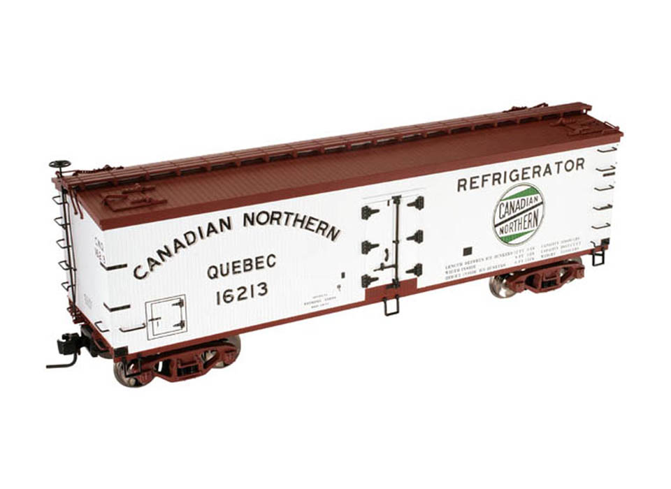 2009 Atlas Canadian Northern Quebec 40' Wood Reefer Car
