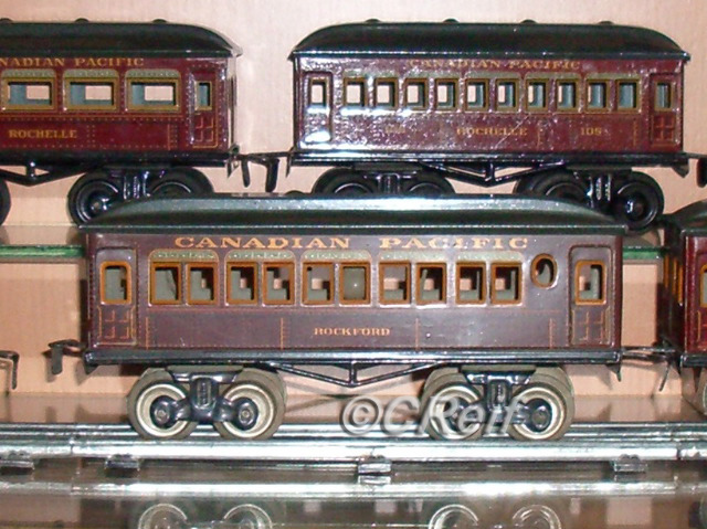 "Bing 6"" & 8"" CP Coaches 1920's - Made in Germany"
