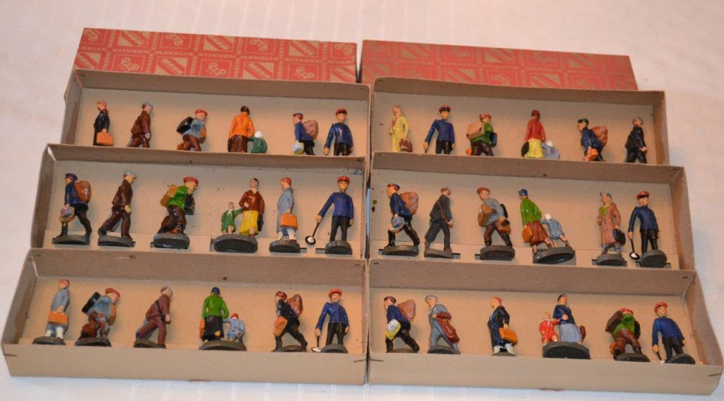 Marklin figure sets in boxes