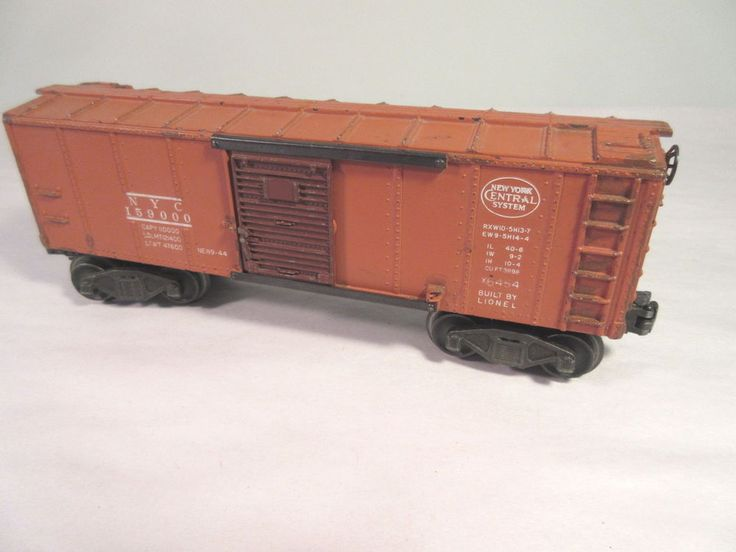 Lionel 6454-NYC box-car-tan