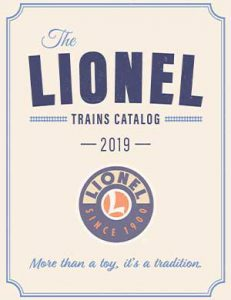 Lionel trains 2019 big book catalog of O gauge and S gauge trains