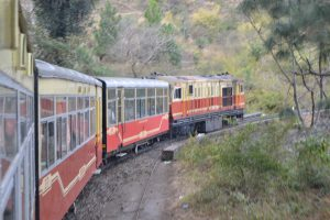 Kalka to Shimla passenger train