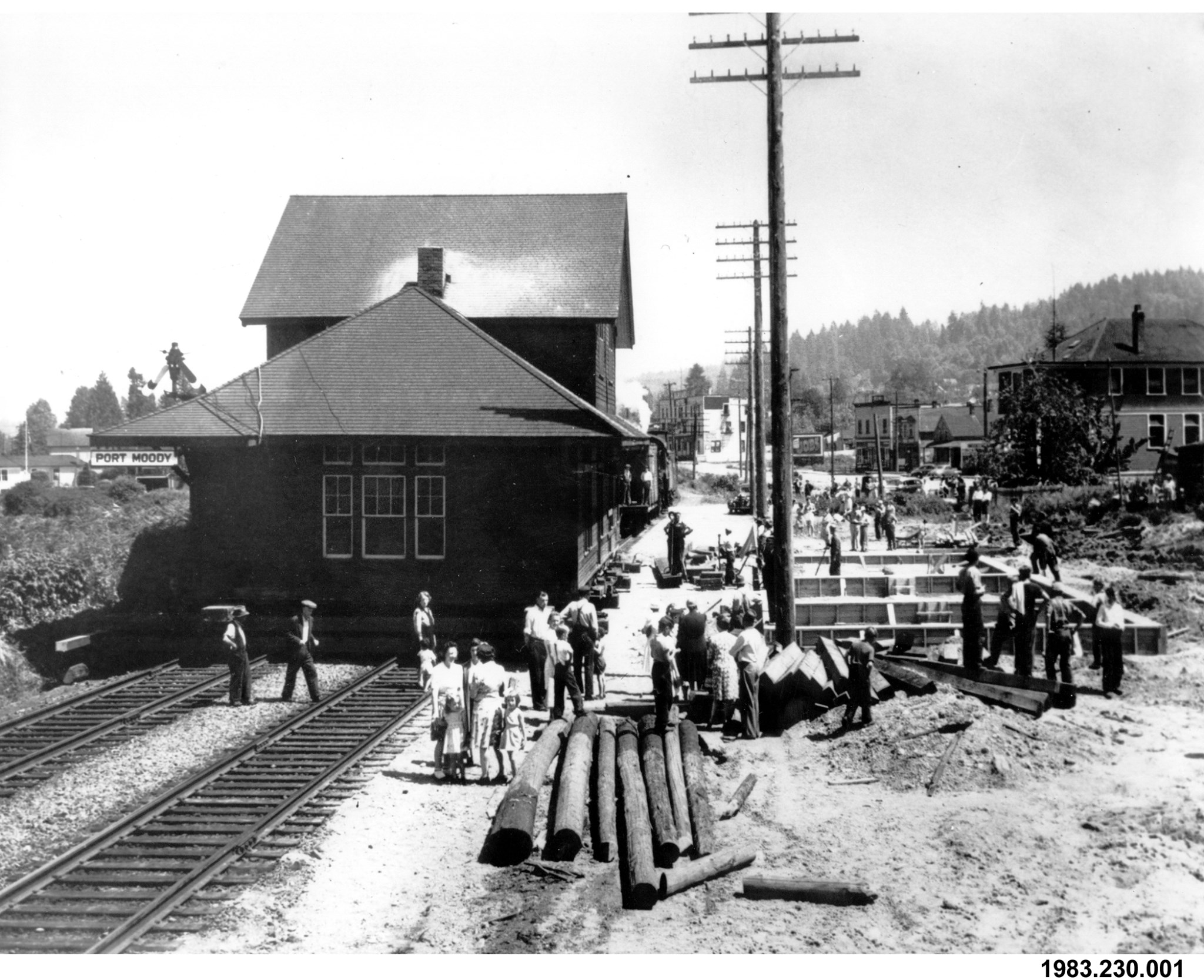 CPR Port Moody Station ready for move to new foundation